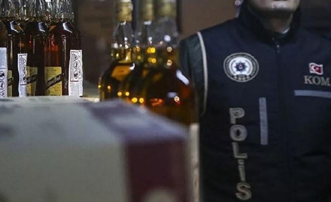 İstanbul'da Alkol Satışı Yapan Esnaf Gözaltına Alındı