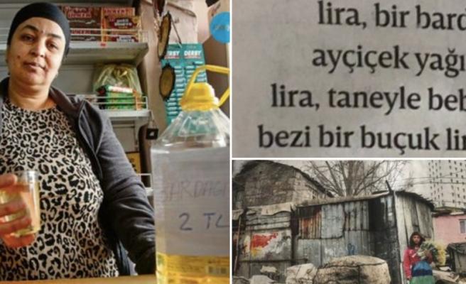 İstanbul'da Bardağı İki TL'ye Ayçiçek Yağı, Tanesi 1,5 TL'ye Bebek Bezi...