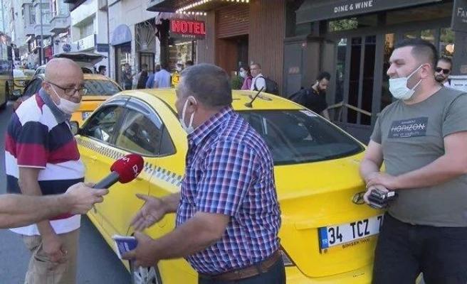 İstanbul'da Taksi Denetimi: 'Türk Vatandaşı Olduğumuz İçin Binemiyoruz'
