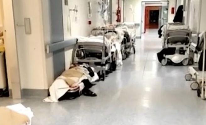 İtalya'da Koronavirüs Nedeniyle Hastaneler Dolmaya Başladı