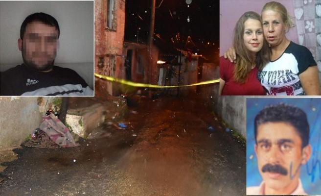 İzmir'de Vahşet! Eşini, Kayınvalidesini ve Yardıma Gelen Komşuyu Çocuklarının Gözü Önünde Katletti