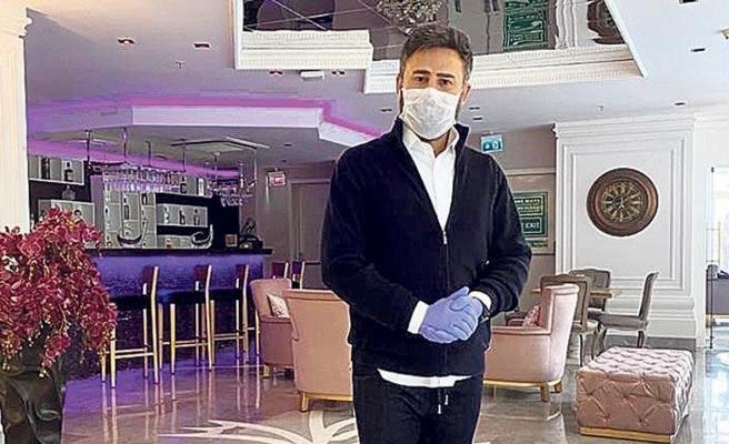 İzzet Yıldızhan oteli dezenfekte ettirdi