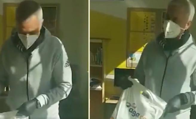 Jose Mourinho, Londra'da Evinden Çıkamayan Yaşlılar İçin Yardıma Koştu