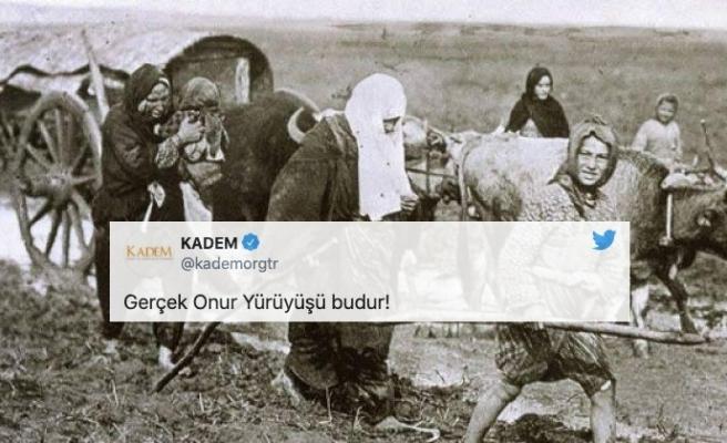 KADEM'in 'Gerçek Iftihar Yürüyüşü Budur' Paylaşımları Eleştirilere Neden Oldu