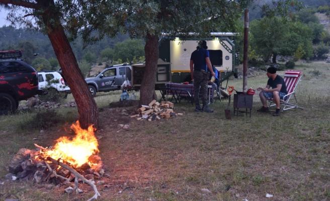 Kamp tutkunlarının yeni gözdesi doğal şehir Sındırgı