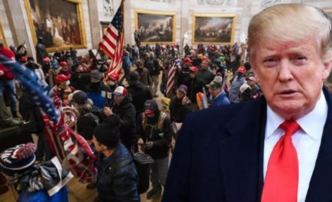 Kanlı Kongre baskınının ardından Trump'a anket şoku: Devir teslim töreni öncesinde görevden alınsın