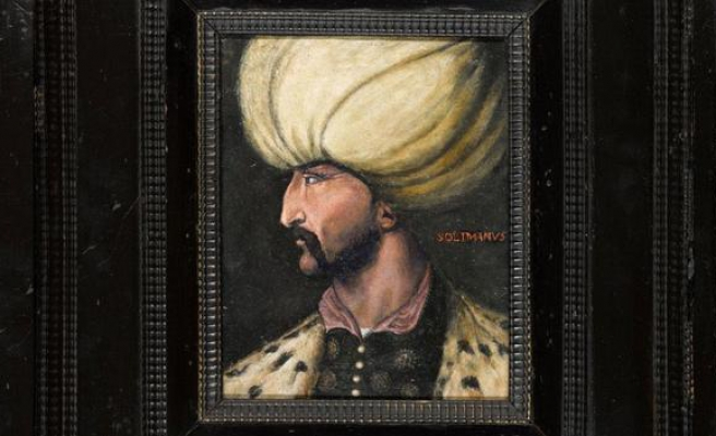 Kanuni'nin Portresini 5 Milyon Liraya Satın Alan Gizemli Kişi Portreyi İBB'ye Bağışladı