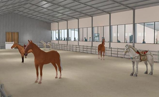 Kastamonu'ya 4 milyon TL'lik atlı terapi merkezi
