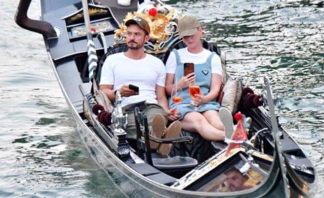 Katty Perry ve Orlando Bloom çocuklarıyla tatilde