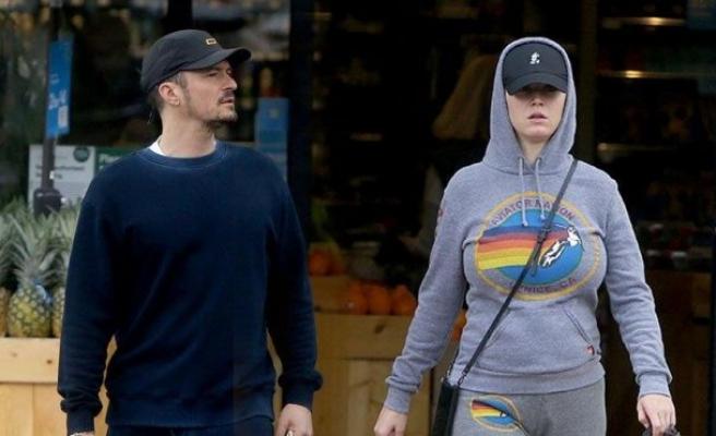 Katy Perry ve Orlando Bloom karantina alışverişinde
