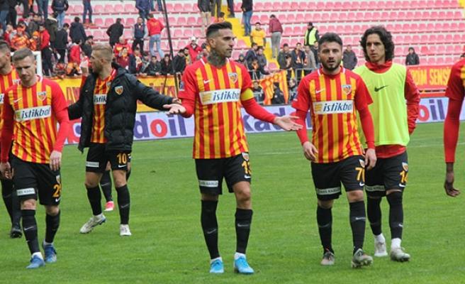 Kayserispor'un maç günleri emin oldu