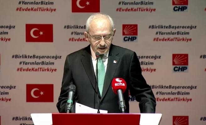 Kemal Kılıçdaroğlu'ndan Koronavirüse Karşı 13 Maddelik Öneri: 'Sağlık Personeline Her Ay İki Maaş Ödeme Yapılmalı'