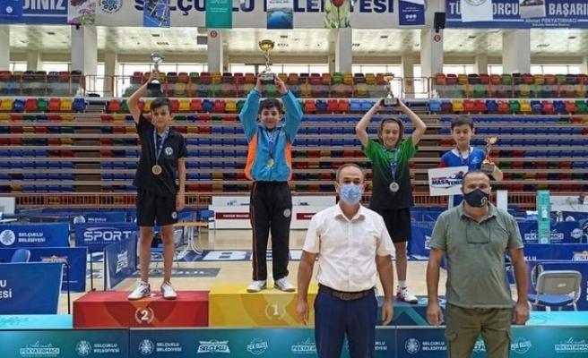 Kenan Eren Kahraman Türkiye Şampiyonu