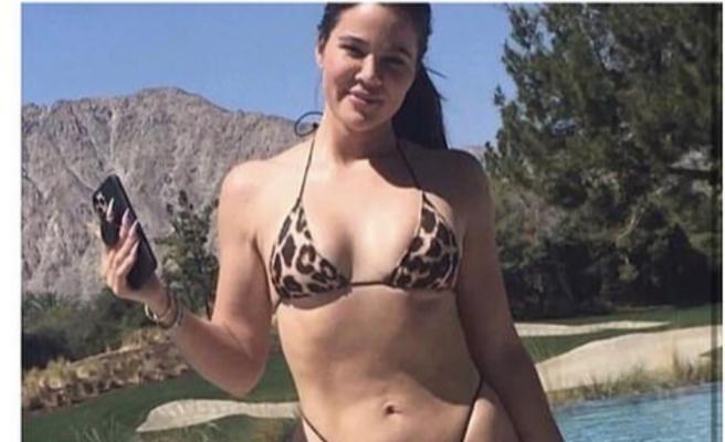 Khloe Kardashian makyajsız