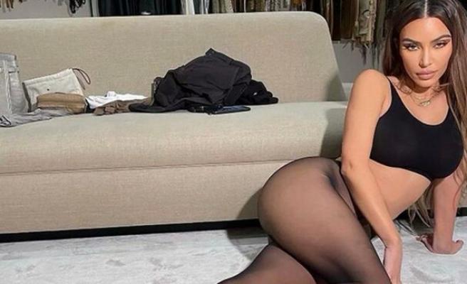 Kim Kardashian'dan boşanma iddiaları sonrası cesur pozlar