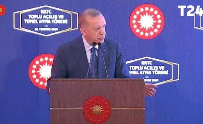 KKTC'de Erdoğan'ı Kızdıran Prompter: 'Kim Yönetiyor Bunu?'