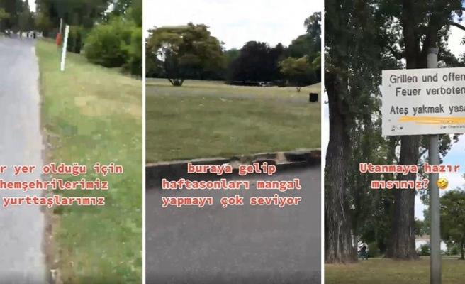 Köln'de Yasak Olmasına Rağmen Parkta Mangal Yapan Türklere Belediyeden Türkçe Uyarı: Ateş Yakmak Yasaktır