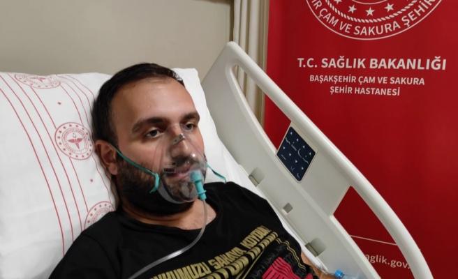 Korona virüs hastası: 'Yaşa bakmıyor kesinlikle aşı olun'