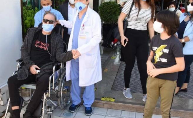 Koronavirüs tedavisi gören Burak Sergen taburcu oldu