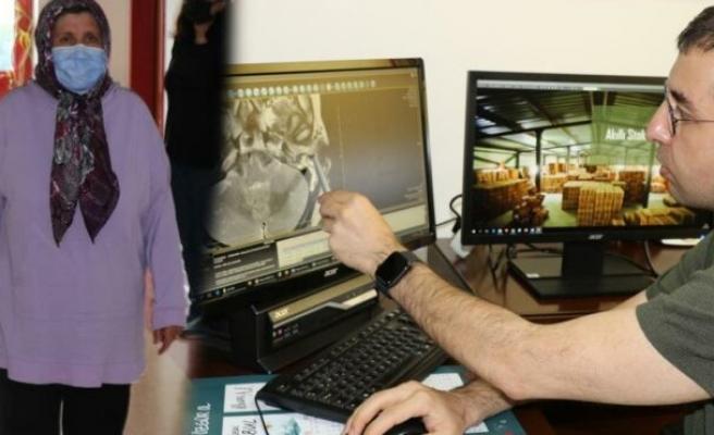 Kulak ağrısı şikayetiyle doktora gitti, milyonda bir görülen hastalığı ortaya çıktı