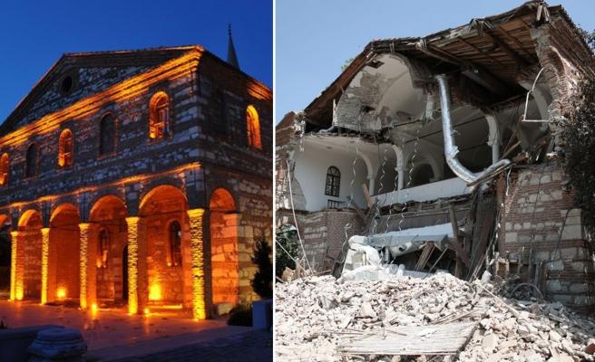 Kültür Mirasımız Birer Birer Yok Oluyor: 'Bursa'nın Ayasofya'sı' Bakımsızlıktan Yıkıldı