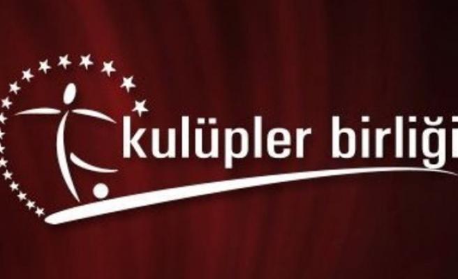 Kulüpler Birliği'nin yeni başkanı Ahmet Ağaoğlu oldu