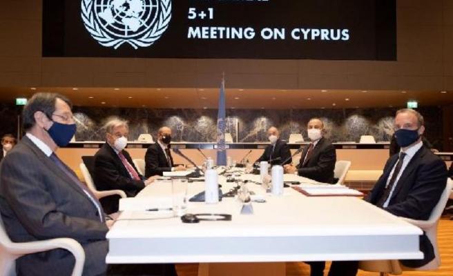 Kuzey Kıbrıs Cumhurbaşkanı Tatar, Kıbrıs'ta kalıcı çözüm için 6 maddeden oluşan öneri sundu