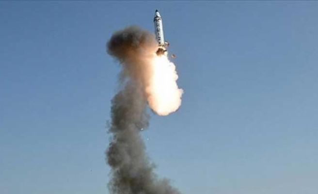 Kuzey Kore, kısa menzilli füze denedi