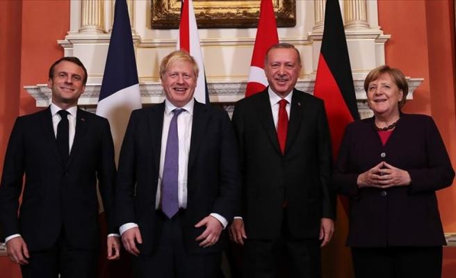 Londra'da Dörtlü Suriye Zirvesi: Erdoğan'dan 'Gayet İyi Geçti' Mesajı