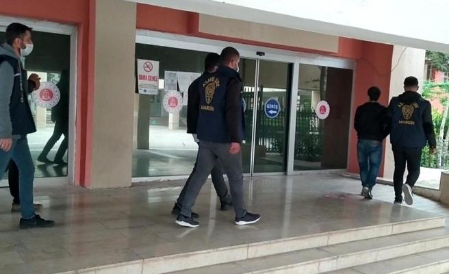Mardin'de iş yeri hırsızları yakalandı