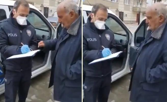 Market Alışverişi İçin Polise Liste Veren Amca: 'Menemen Falan Yaparım Biber Acı Olsun'