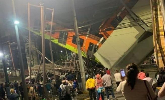 Meksika'da Tren Yolu Çöktü: 15 Ölü, 70 Yaralı