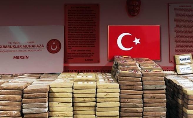 Mersin Limanı'nda 1 Ton Kokain Yakalandı
