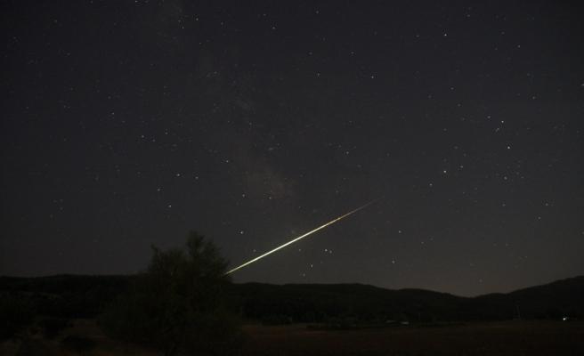 Meteor düşüşü Bursa'da görüntülendi