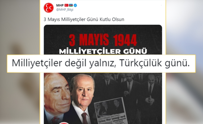 MHP'nin 'Türkçülük' Yerine 'Milliyetçiler Günü'nü Kutlaması Sosyal Medyada Tepkilere Neden Oldu