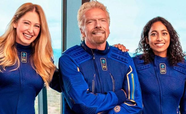 Milyarder Richard Branson, Ekibiyle Birlikte Bugün Uzay Yolculuğuna Çıkıyor