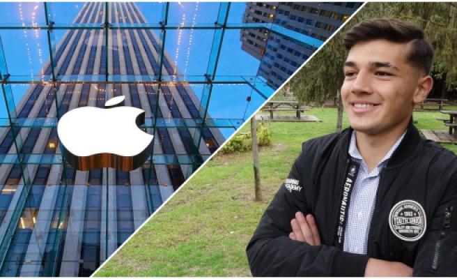 Milyonlarca Kişi Arasından Seçildi! Trabzonlu Mert'e Apple'ın Reklam Yüzü İçin Davet