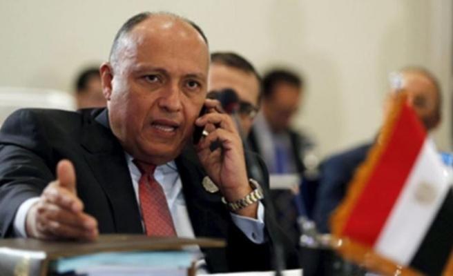 Mısır Dışişleri Bakanı Şükrü'den Türkiye açıklaması: Sorunların çözümünden tatmin olursak, ilerleme için kapı daha da açılacak