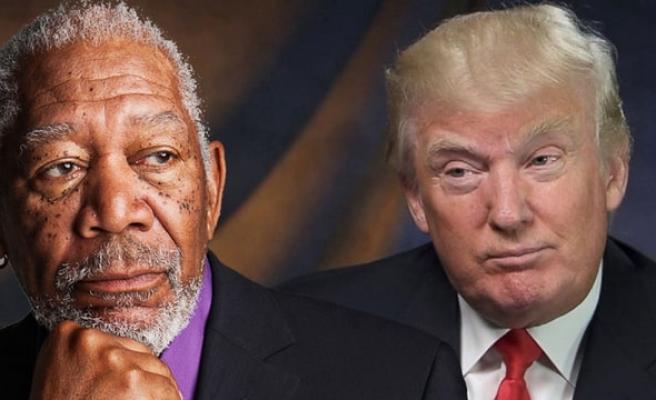 Morgan Freeman'dan olay Donald Trump mesajı
