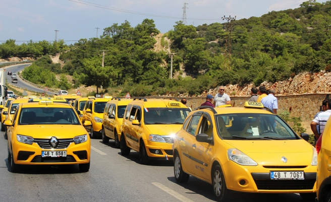 Muğla'da ticari taksilere uyarı