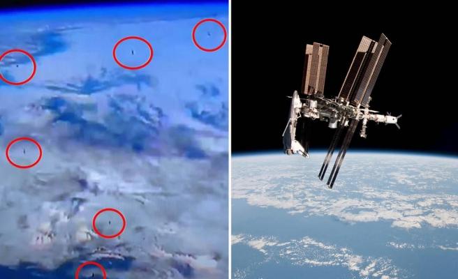 NASA Canlı Yayınında Tartışma Yaratan Görüntüler: Ekrana Yansıyanlar UFO muydu?