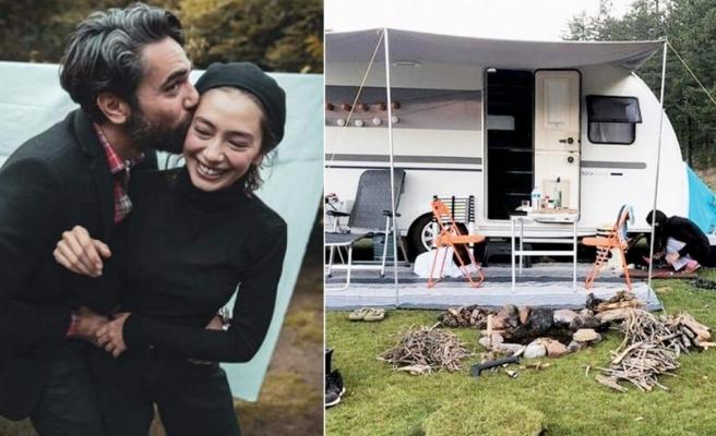 Neslihan Atagül-Kadir Doğulu çifti bu sene de kamp kuracak