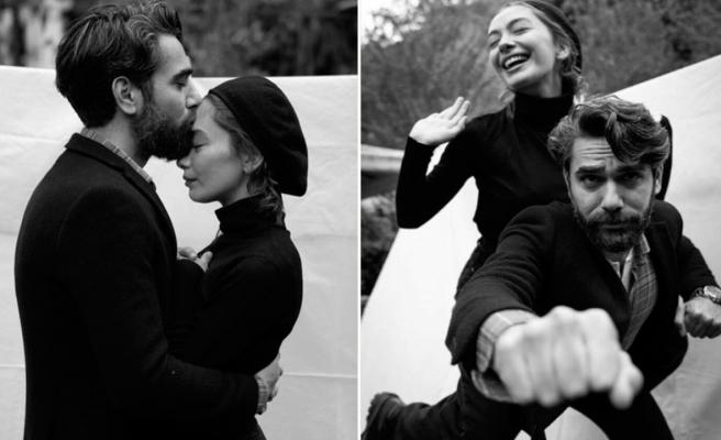 Neslihan Atagül ve Kadir Doğulu aşk rüzgarı estirdi!