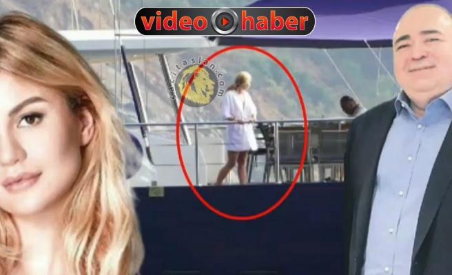 O teknedeki bayan Aslı Turanlı mı?