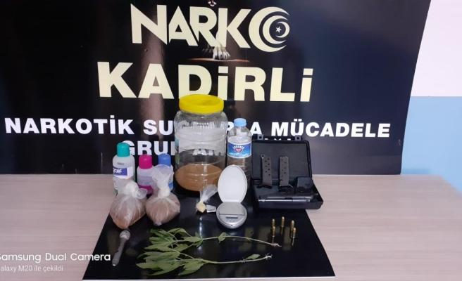 Osmaniye'de asayiş ve narkotik uygulamaları