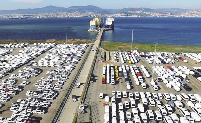 Otomotiv ihracatı eylülde 2,5 milyar dolar oldu