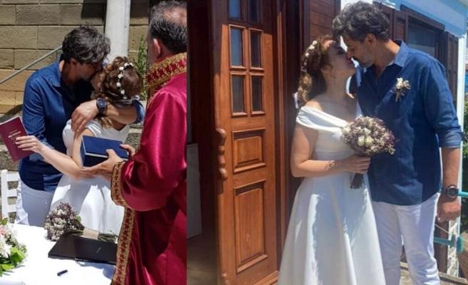 Oyuncu Deniz Uğur evlendi