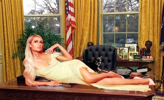 Paris Hilton da ABD Başkanlığı'na adaylığına aday oldu