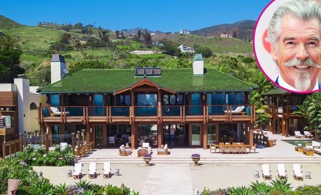 Pierce Brosnan 100 milyon dolarlık evini satamadı