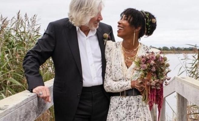 Pink Floyd'un solisti George Roger Waters beşinci kez evlendi